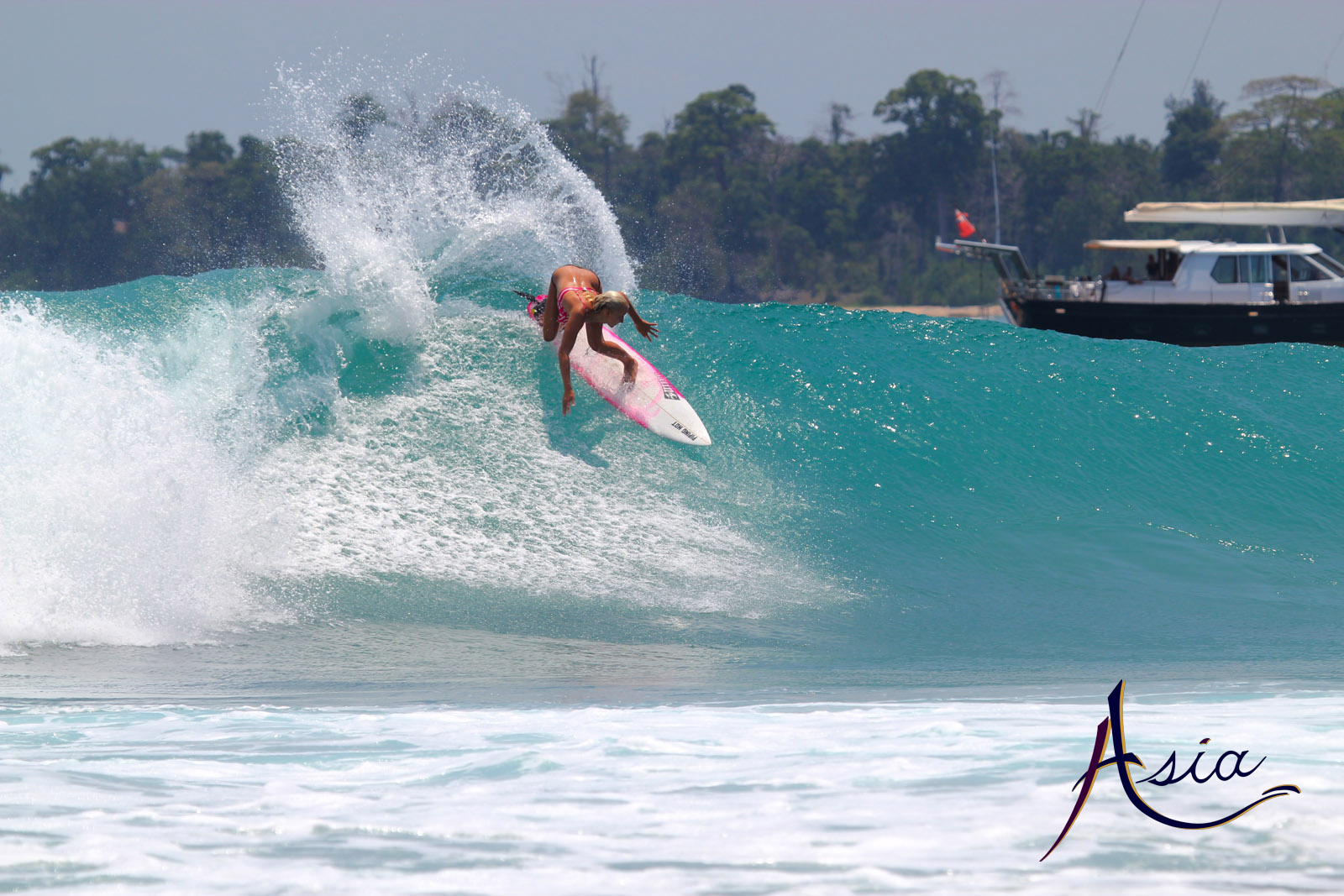 Andaman Islands Surfing with Sailing Yacht ASIA